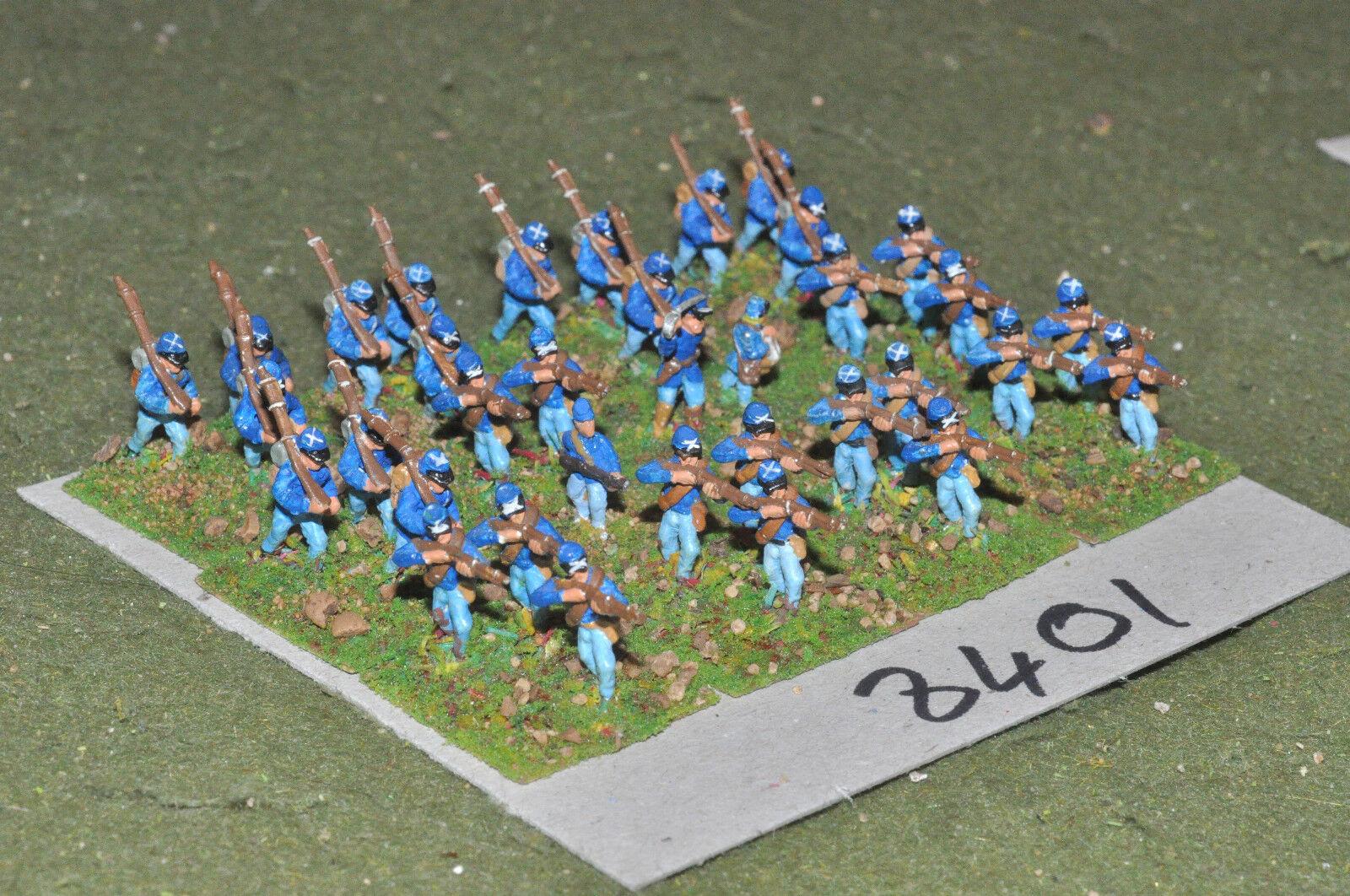 15mm ACW   union - american civil war infantry 35 figs metal - inf (8401)