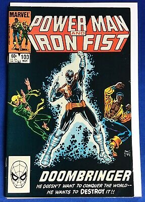 Power Man and Iron Fist #103 FN 1984 Stock Image