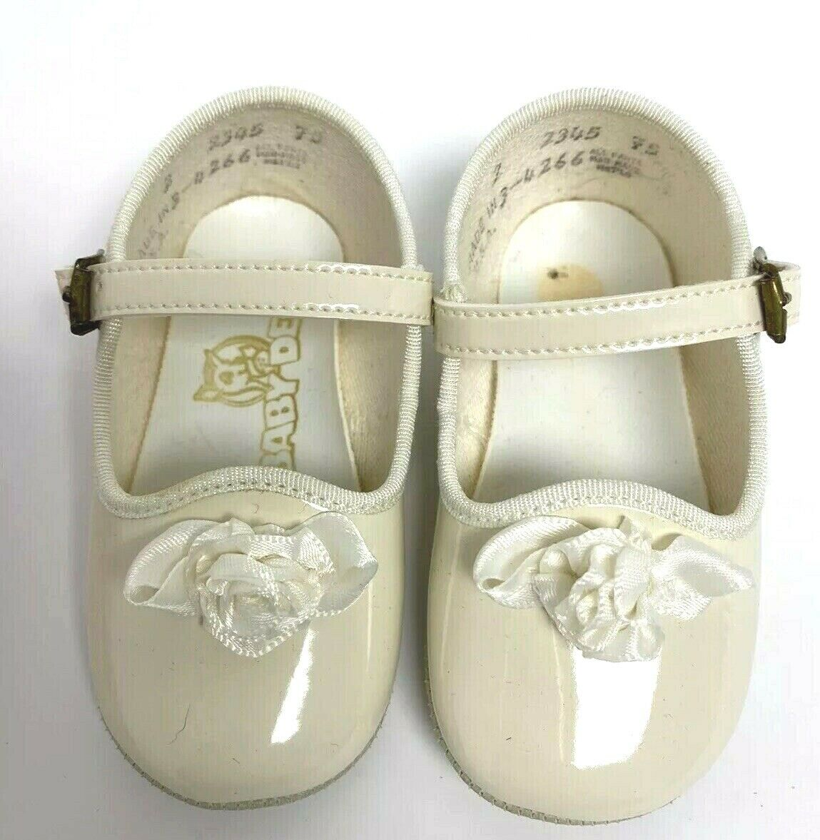 Vintage Baby Deer baby girls shoes waddle size 3-6 months 2 made in USA