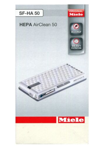 Miele S8000..S8999 Genuine Hepa Filter SF-HA50 Allergy Vacuum Filter 09616280