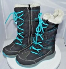 sports shoes 67c27 991b7 Lico Girls Fernanda Snow BOOTS Blue (marine/pink) Child UK ...