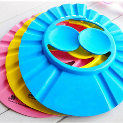 The best selling product for your child Baby Shower Cap Solid Adjustable