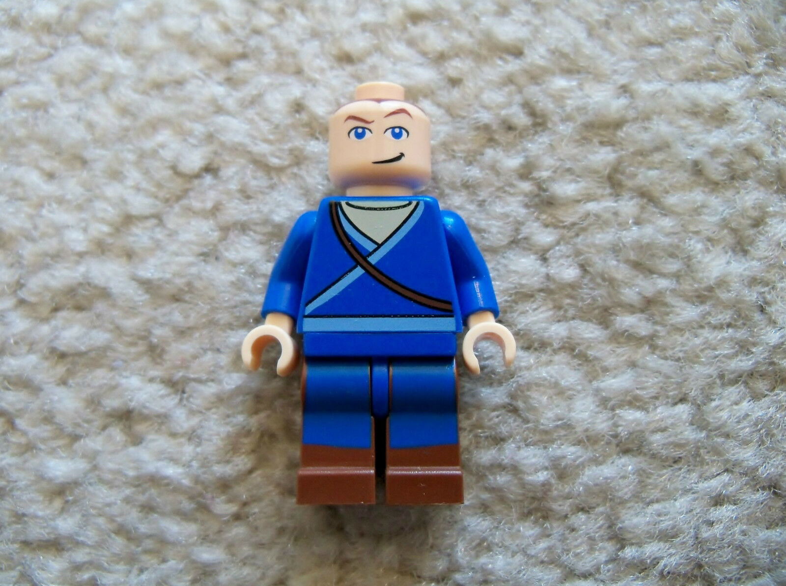 Monochrome BLUE Genuine Lego Minifigure RARE