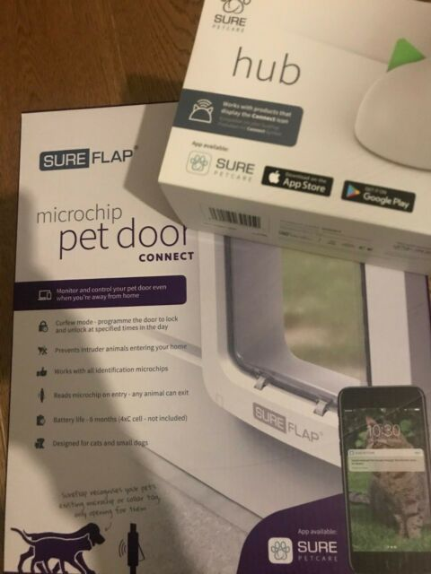 Brand New and boxed SureFlap Microchip Pet Door Connect plus Hub included!
