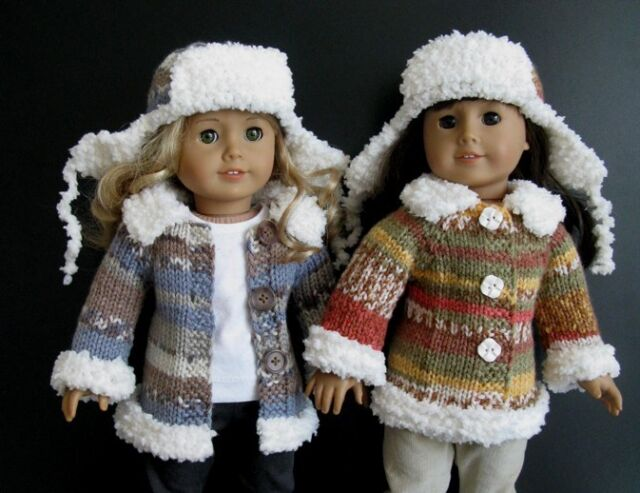 Knitting Patterns For 18 American Doll Collection On Ebay