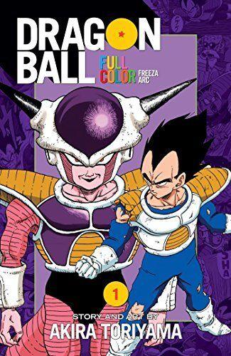 Dragon Ball Full Color Freeza Arc, Vol. 1 NOUVEAU Broche Livre  Akira Toriyama