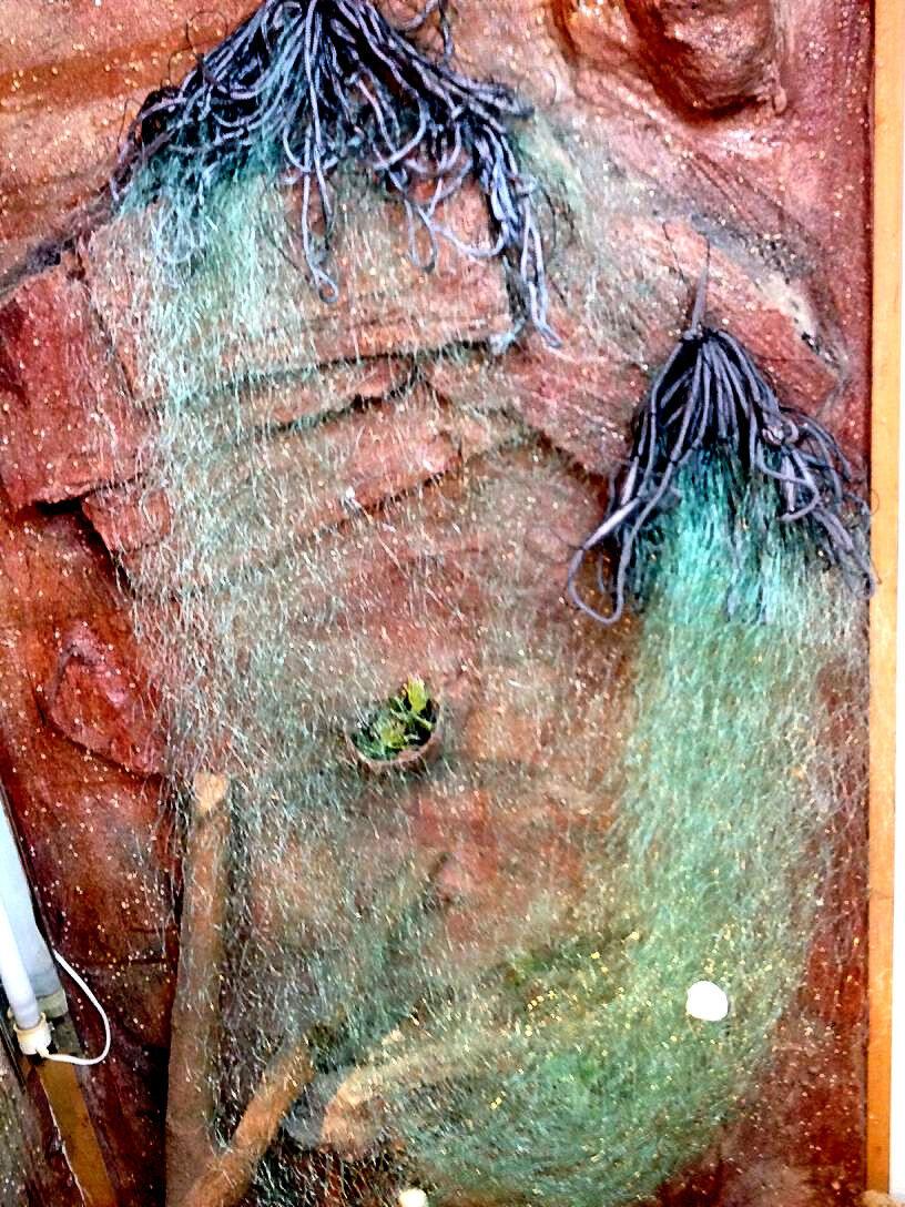 Stellnetz Stellnetz Stellnetz Fischnetz,Spiegelnetz,1 Wandig, Finland Netz 1,8x15 m,40 mm ,Grün.Neu e1fd90