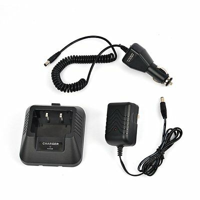 USB Charger Cable Cord for BAOFENG UV-5R UV-5RA UV-5RB UV-5RE TYT Radio Black