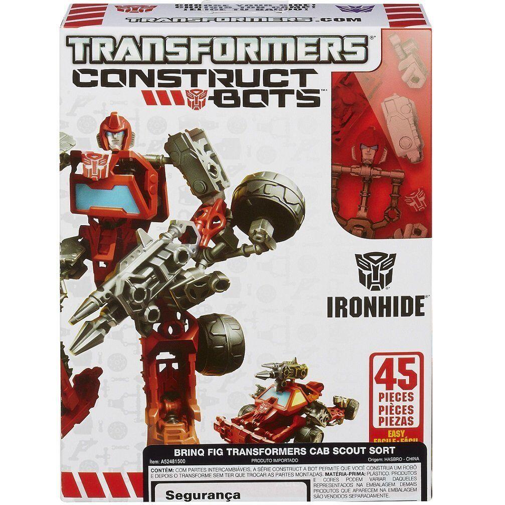 Transformers Construct-Bots Scout Class Ironhide