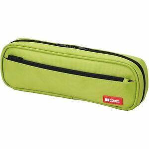 Lihit-Lab-Pen-Case-2WAY-type-A7552-6-Olive-Green-4-5cm-24cm-7-5cm-from-Japan