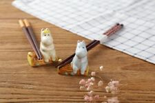 Moomin Valley Characters Chopsticks Stand Set 2 Pieces