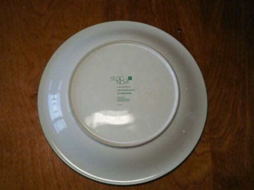 "Studio Nova GARDEN BLOOM Y2372 Dinner Plate 11/"" 1 ea        3 available"