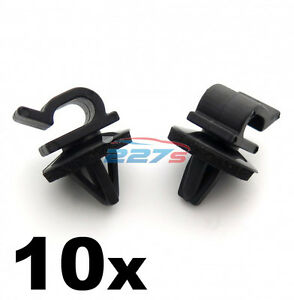 10x vehicle cable wiring harness clips for routing in. Black Bedroom Furniture Sets. Home Design Ideas