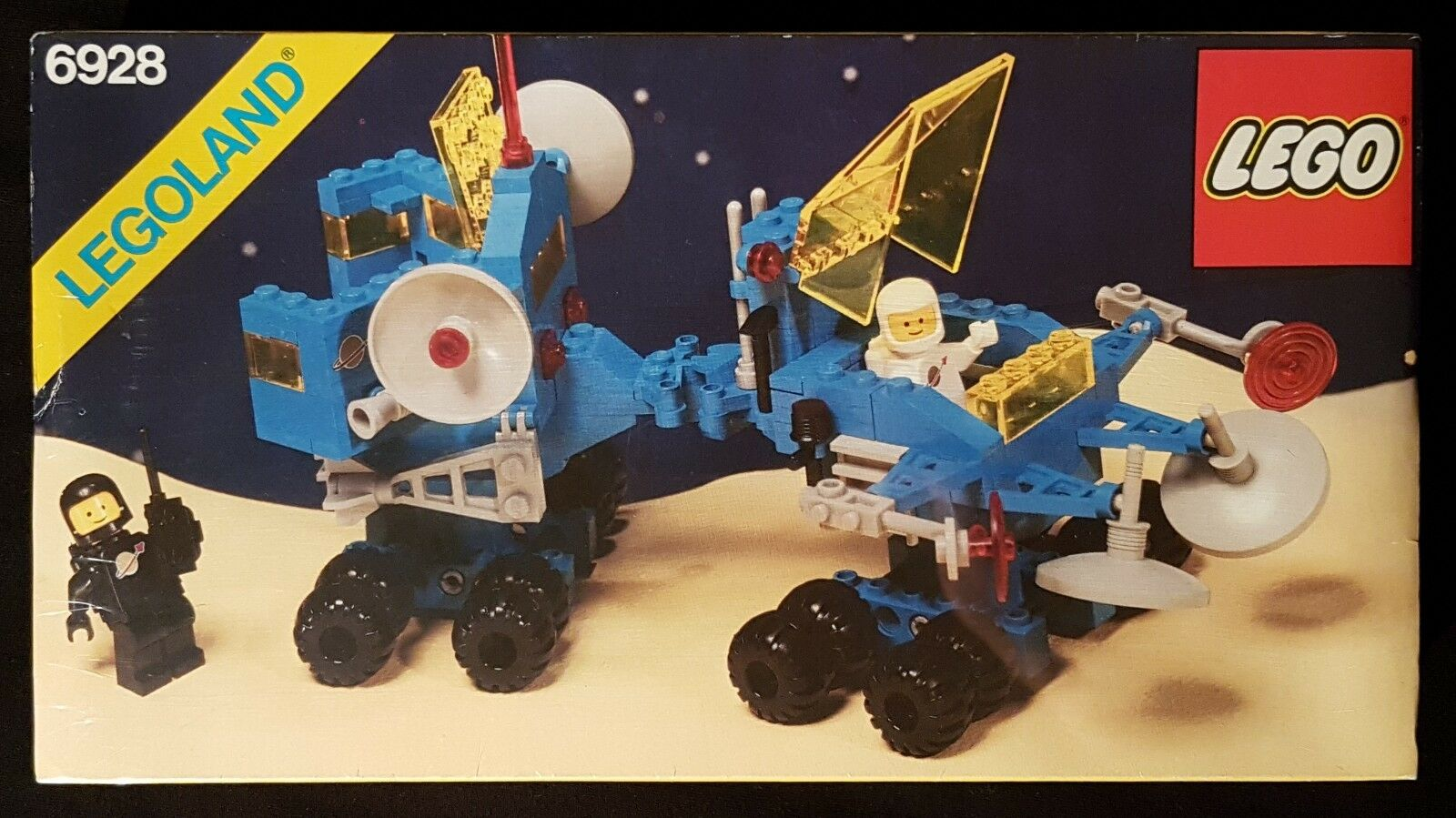 Lego 6928 - Uranium Search Vehicle - 1984 Legoland Classic Space - Vintage, MISB