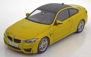 1:18 Paragon BMW M4 F82 Coupe 2014 yellowmetallic/carbon