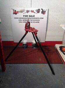 Pipe Jack Stands >> Nye Tool Co Tripod Stands Pipe Threading Machine Professional Jack