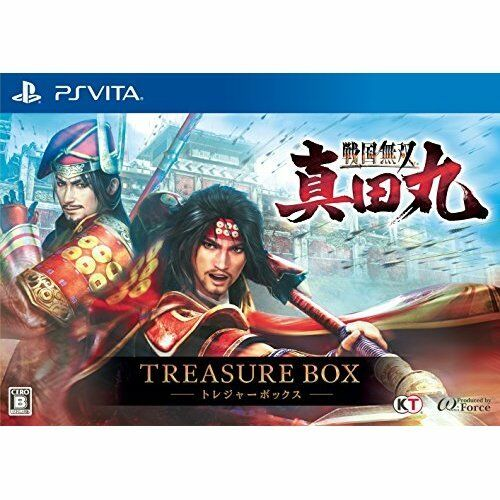 New PS Vita Sengoku Muso Sanada round TREASURE BOX Import Japan