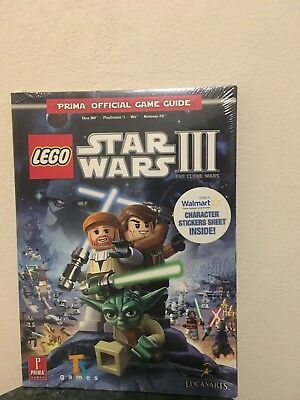 lego star wars iii: the clone wars - prima official game