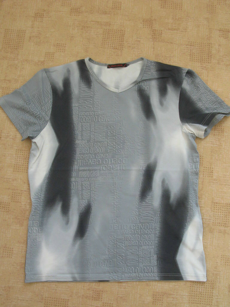 ROBERTO  CAVALLI  Kurzärmliges T-Shirt Gr. S,  wie NEU