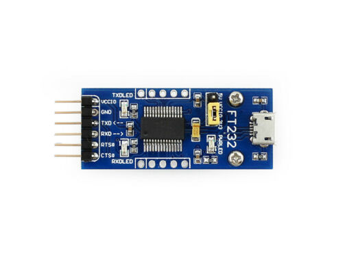 micro FT232 USB UART Board FT232RL FT232R to RS232 TTL Serial Converter Module