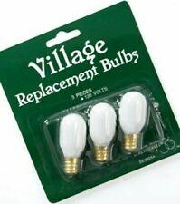 50 Bulbs Dept 56 Village #99244 Replacement Light Bulbs Bulk Pack Item #99002