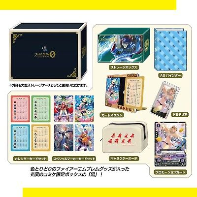 Fire Emblem cipher Ǿ Fan Box Pink Green Set Comiket