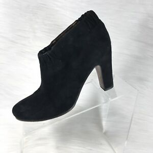 cb4913a70adcc Sam Edelman Women s Ankle Boots Black Suede Heels Booties Size 7 M ...