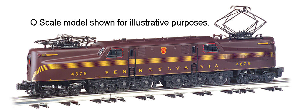 HO BACHMANN GG-1 ELECTRIC ELECTRIC ELECTRIC PENN CENTRAL  65202 TUSCAN rosso 5 STRIP 4876 DCC READY 92b6cd