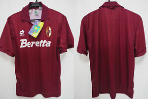 e22192439 1993-1994 Torino FC The Bull Soccer Jersey Shirt Maglia Home Beretta ...