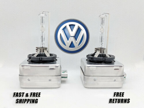 Front HID Headlight Bulb For VW Tiguan 2012-2017 Low High Beam Stock Fit Qty 2