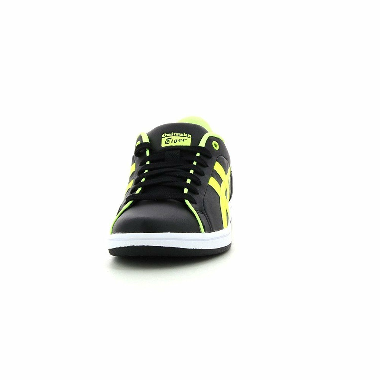 BASKET ONITSUKA TIGER LARALLY GS  TAILLE: BY ASICS NOIR/JAUNE FLUO TAILLE:  39 : (EU) da6875