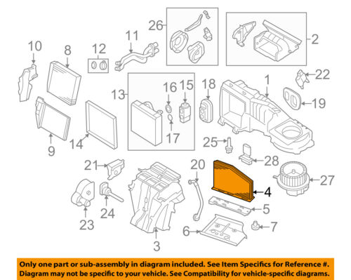 VW VOLKSWAGEN OEM 10-17 Jetta-Cabin Air Filter 1K0819644B