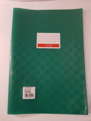"""gelb NEU Heftumschläge A4 /""""Brunnen/"""" grün blau... orange rot weiß"""