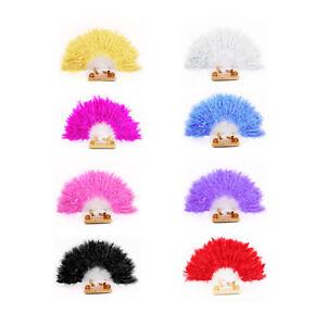Women-Feather-Fan-Dance-Props-Hand-Goose-Feather-Folding-Nice-Wedding-Fan-lovely