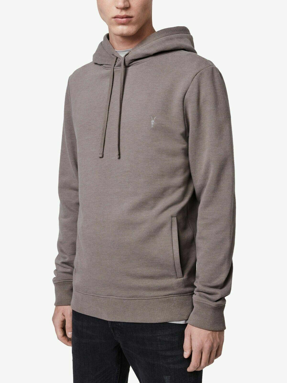 All Saints Mens Hoodie Designer Tile Pullover Overhead Hooded Sweatshirt Hoody
