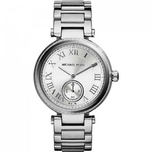 e7ce72aa2c8c Michael Kors MK5866 Skylar Stainless Steel Ladies Watch 796483054264 ...