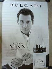 AFFICHE BVLGARI MAN 4x6 ft Shelter Original Perfume Fashion Luxury Poster