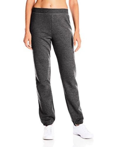Hanes Womens Activewear Mid Rise Cin Bottom Fleece Sweatpant Select SZ//Color.