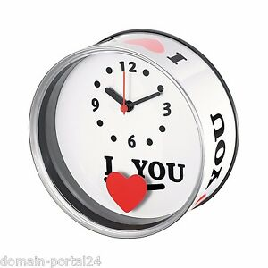 Ziemlich Verrückt SchöN Exklusive Dosenuhr Uhr I Love You Zum Sonderpreis Trendy /stylisch Neuheit Uhren & Schmuck
