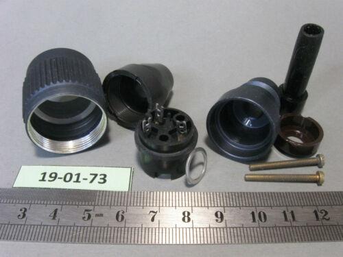 "Variante an 3 Pol NOS Stecker Dose Einbau Bauform /""Groß Tuchel/""  #TGL68-23"