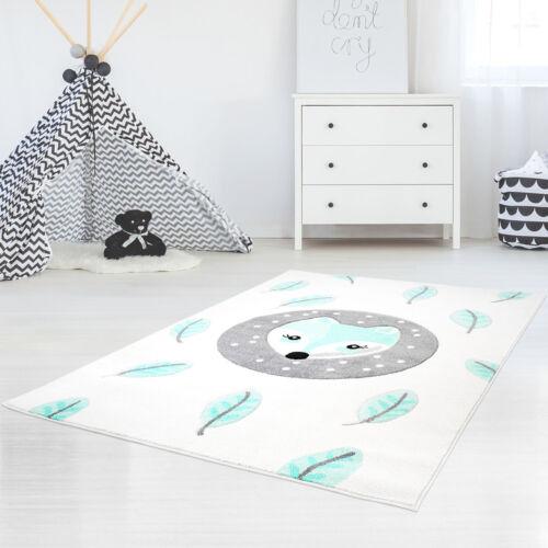 Kinderteppich Spielteppich Teppich-Fuchs Kinderzimmer Konturenschnitt Glanzgarn