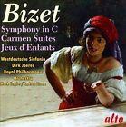Bizet: Symphony in C; Carmen Suites; Jeux d'Enfants (CD, Oct-2012, Alto)