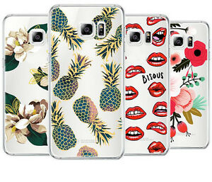 Pattern-Rubber-Soft-TPU-Silicone-Phone-Case-Cover-For-Samsung-Galaxy-S7-S7-edge