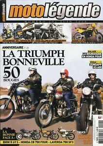 Motolegende-N-202-De-2009-Perfecto-Estado-Triumph-Bonneville-Zundapp-Ks-600