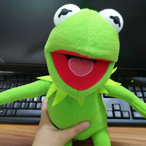 New-Kermit-Sesame-Street-Muppets-Kermit-the-Frog-Toy-Soft-plush-18-034-Gifts-Doll