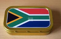 World Flags South Africa 1 & 2oz Tobacco/Storage Tins