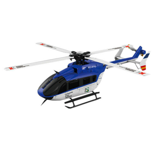 XK K124 6CH Brushless EC145 3D6G System RC Helicopter BNF