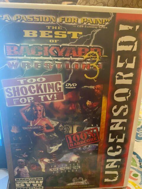 Best of Backyard Wrestling 3: Too Shocking For TV (DVD ...