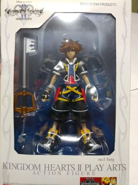 "Authentic 6/"" Bring Arts Kingdom Hearts Halloween Town Sora Action Figure no box"