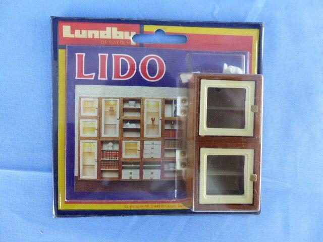 LUNDBY SWEDEN 2 x étagères Display en boite d'origine ref: 5353 maison poupée